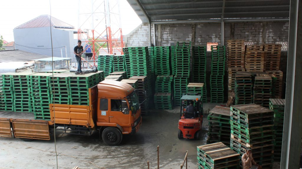 Supplier Pallet Kayu Kendari